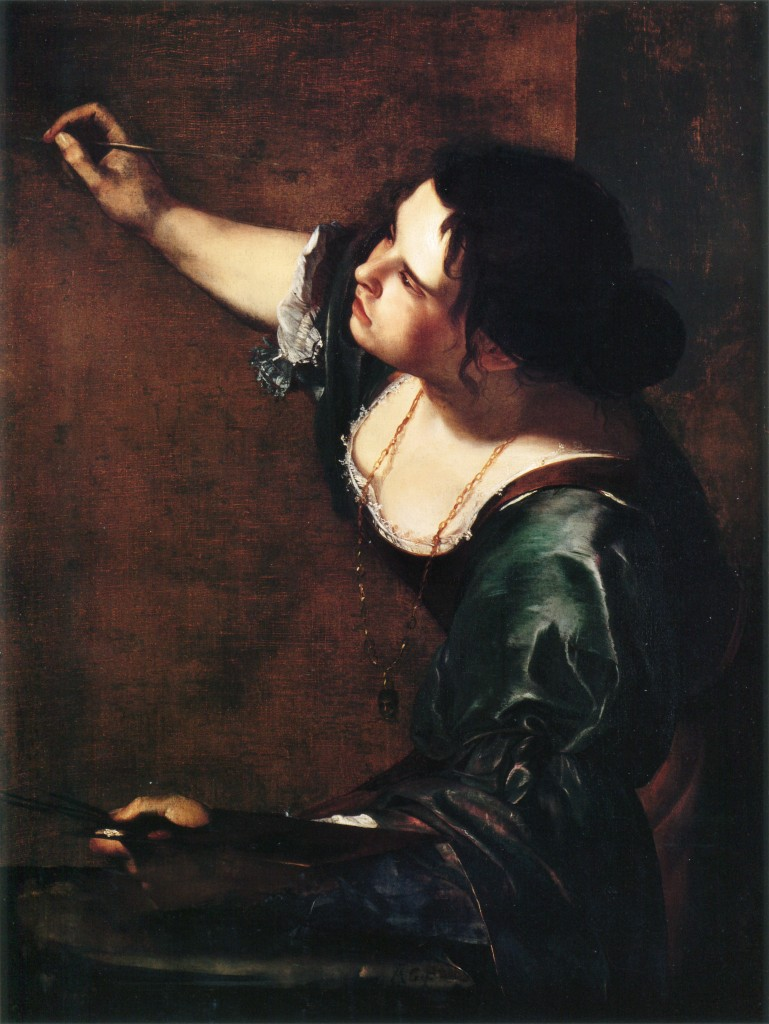 Artemisia Gentileschi, Self Portrait as The Allegory of Painting