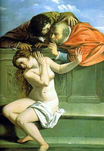 Artemisia Gentileschi, Susanna and the Elders, 1610