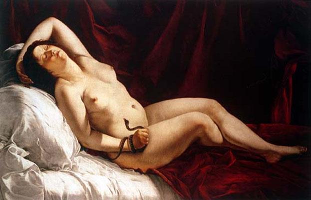 Artemisia Gentileschi, Cleopatra, 1621-22,