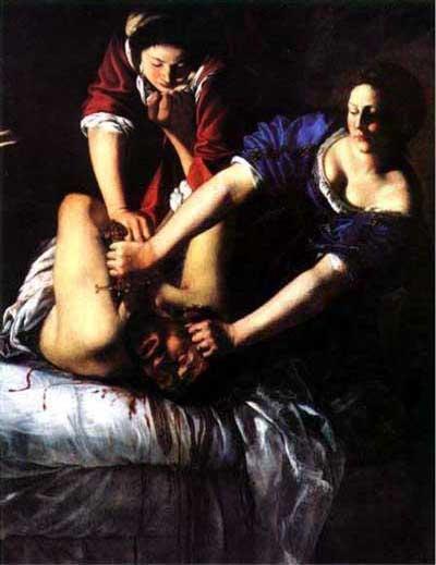 Artemisia Gentileschi, Judith and Holfernes, c. 1612-1613